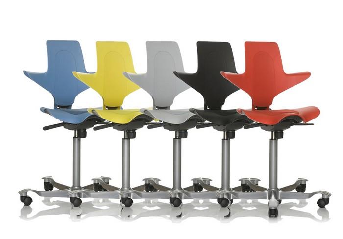 Sedie ergonomiche hag di infinity design comodit e for Monti arreda